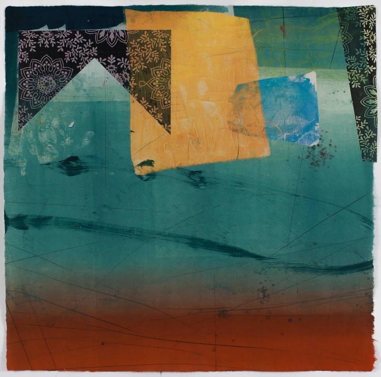 David Collins Abstract Print - Asunder 3