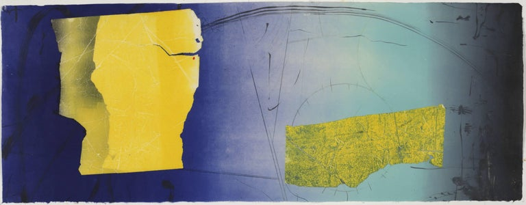David Collins Abstract Print - Untitled 16