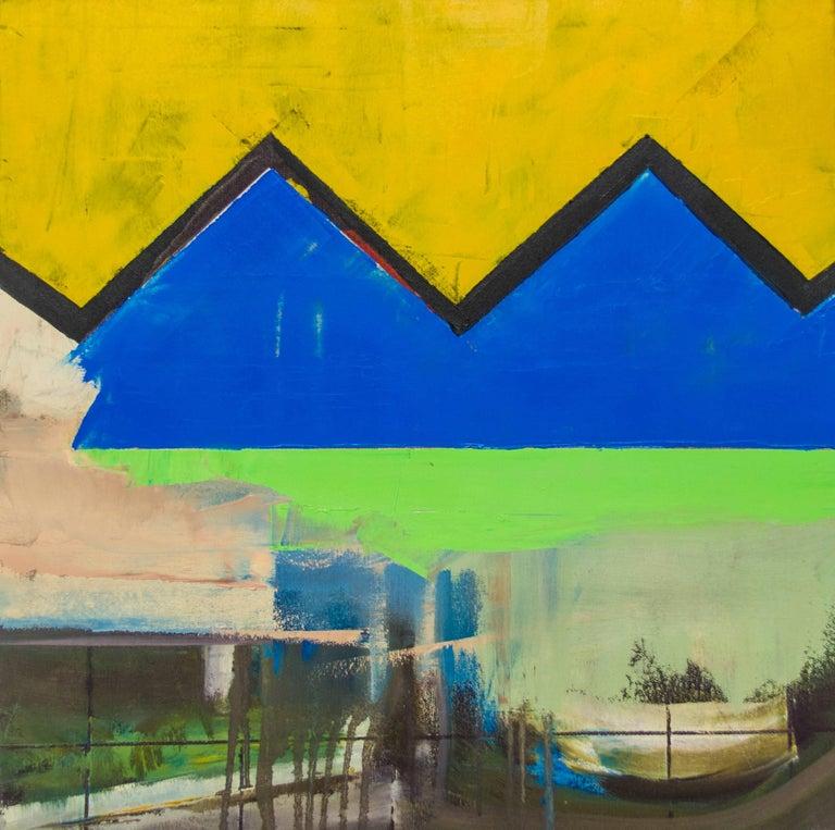 Jonathan Beer Abstract Painting - CB Variation 2