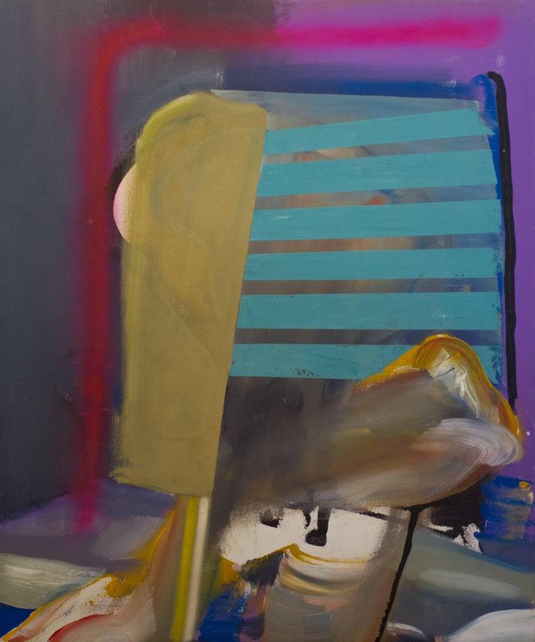 Jonathan Beer Abstract Painting - Mala Studio