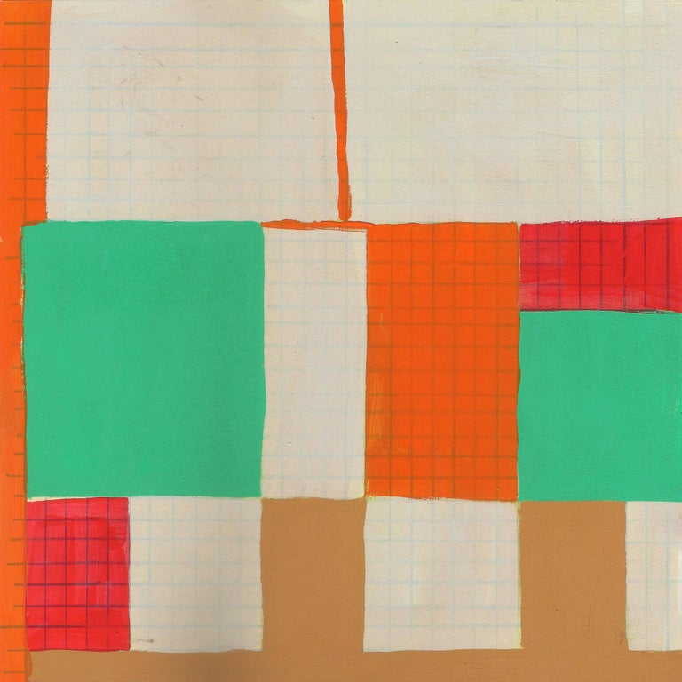 Caryn Azoff Abstract Painting - 17/6/2