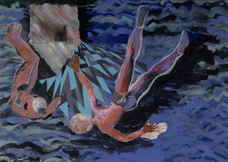 Carole Eisner Figurative Painting - L'Isola