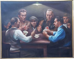 Card Players, Playing Five Card Stud