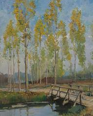 Constantine Kluge - Golden Poplars