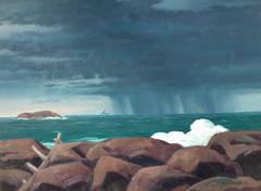 Stormy Coast Maine