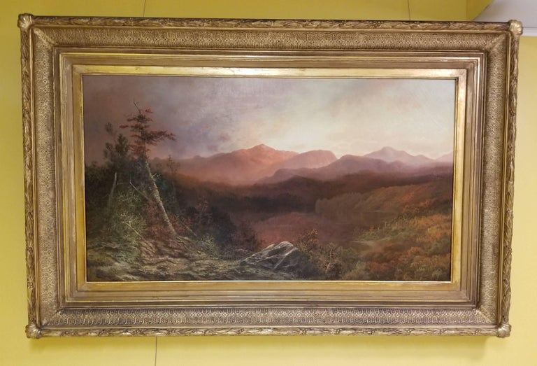 High Peaks in the Adriondacks - Painting by Charles H. Chapin