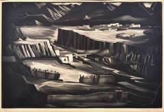 Corrales on the Hondo, 1961