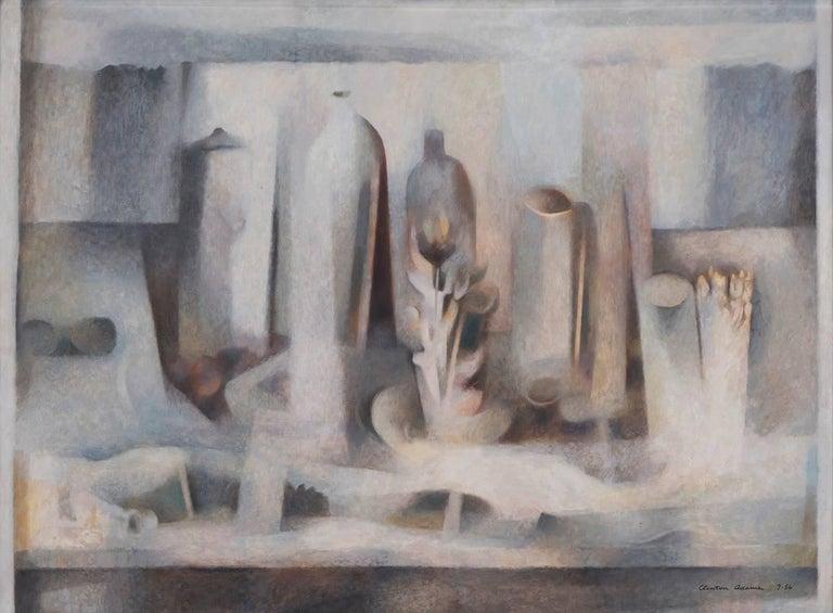 Clinton Adams Abstract Painting - Summer Still Life