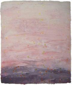 Ellen Kozak, Water-that-falls-and-falls, 2007, Cotton, Handmade Paper, Pigment