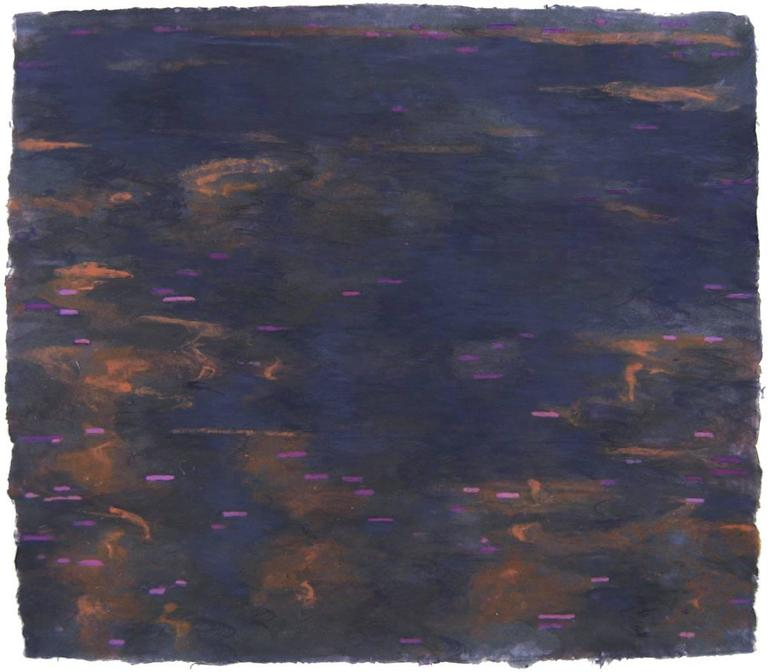 Ellen Kozak, Dark Light, 2007, Cotton, Handmade Paper, Pigment