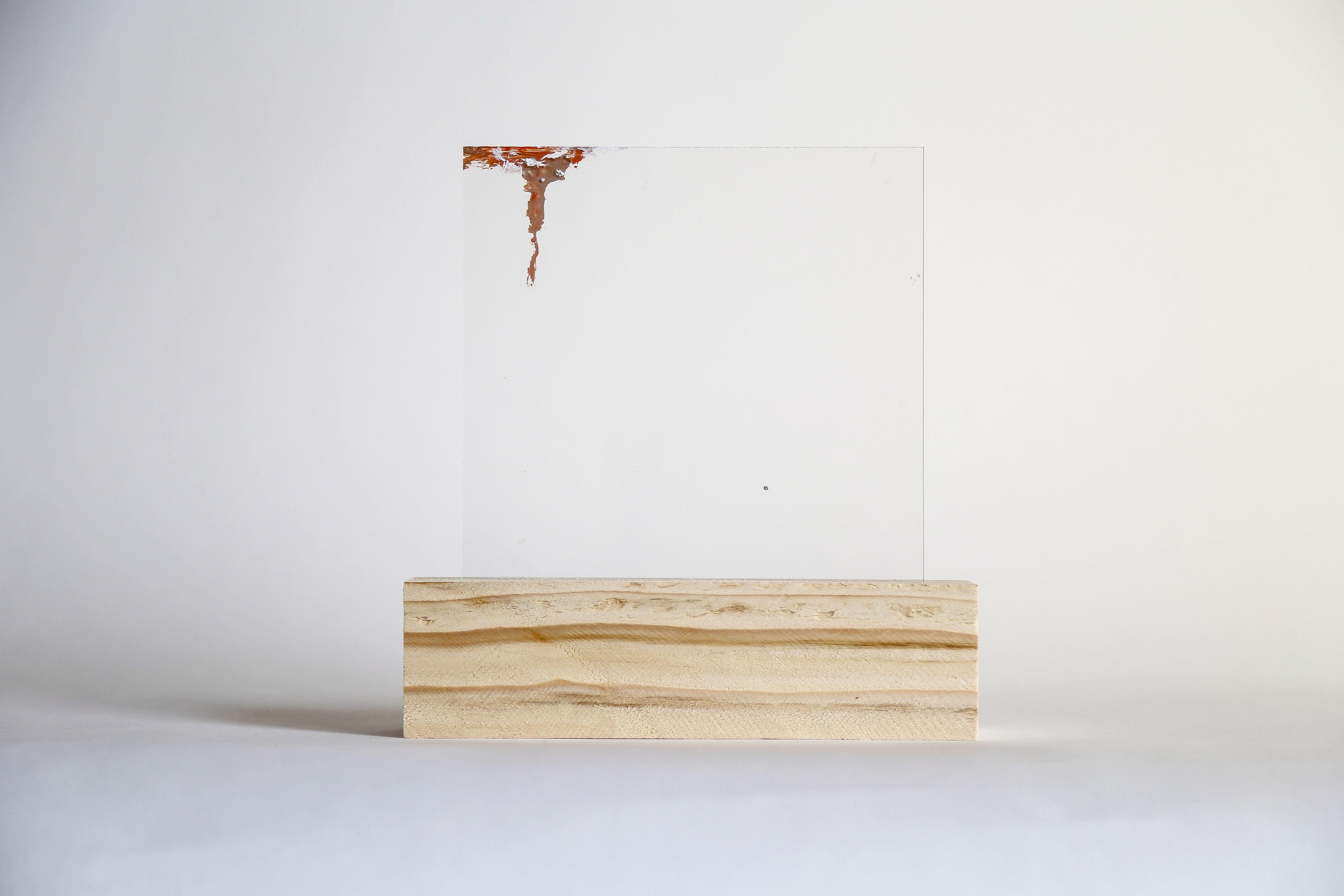 Lourdes Rivera, Retrospect 8, 2015, Plexiglass, Wood, Oil Paint