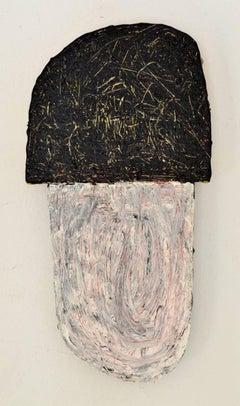 Jesse Hickman, Note Two Twenty Seven Sixteen, 2016, Enamel, Wood, Glue