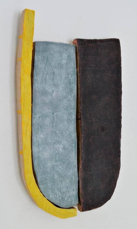 Jesse Hickman, Note Three Eight Sixteen, 2016, Enamel, Wood, Glue  - Sculpture by Jesse Hickman