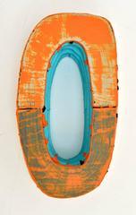 Jesse Hickman, Note Three Twenty Seven Sixteen A, 2016, Enamel, Wood , Glue