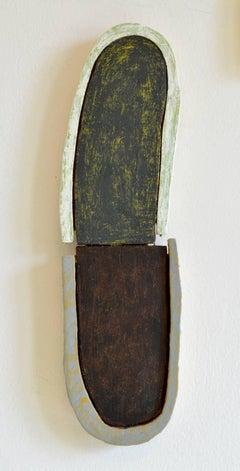 Jesse Hickman, Note Three Twenty Sixteen, 2016, Enamel, Wood, Glue