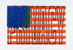 Jeff Becker, Flag Privacy, 2016, Archival Paper, Inkjet Paper