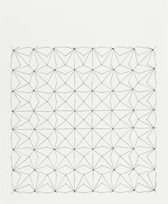 Audrey Stone, #25, 2010, Thread, Paper, Ink, Pencil