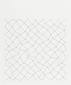 Audrey Stone, #24, 2010, Thread, Paper, Ink, Pencil