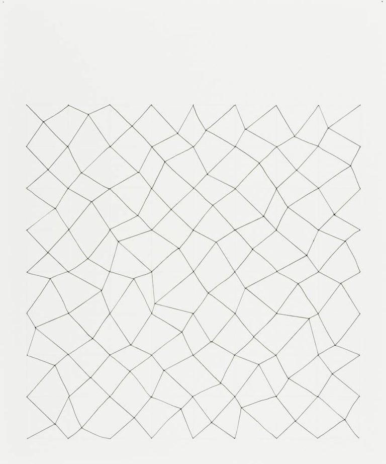 Audrey Stone, #24, 2010, Thread, Paper, Ink, Pencil - Art by Audrey Stone