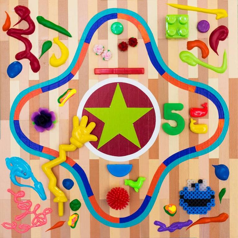 Kenny Colors Abstract Painting - Scorestar