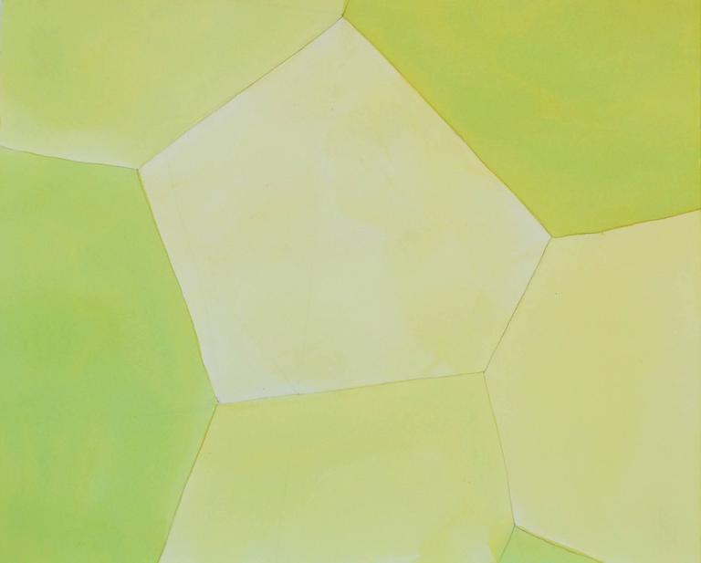 Karen Schiff, Expanse, 2014, Watercolor, Rag Paper, Graphite - Art by Karen Schiff