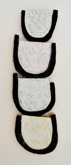 Jesse Hickman, Note Four Eight Sixteen, 2016, Enamel, Wood