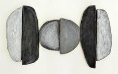 Jesse Hickman, Note Five Eighteen Sixteen, 2016, Enamel, Wood