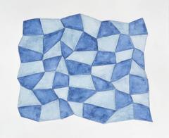 Karen Schiff, Field of Sorts III, 2014, Watercolor, Pencil, Graphite