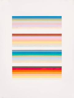 Audrey Stone, Outliers Cousin, 2015, Acrylic Paint, Archival Paper, Pigment