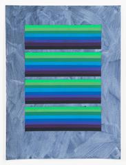 Audrey Stone, Repeat, 2016, Acrylic Paint, Archival Paper, Pigment