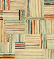 Elizabeth Gourlay, Pondline 1, 2016, Acrylic, Archival Paper, Pencil, Minimalist