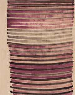 Emily Berger, Ultra Pink, 2014, oil paint, wood panel