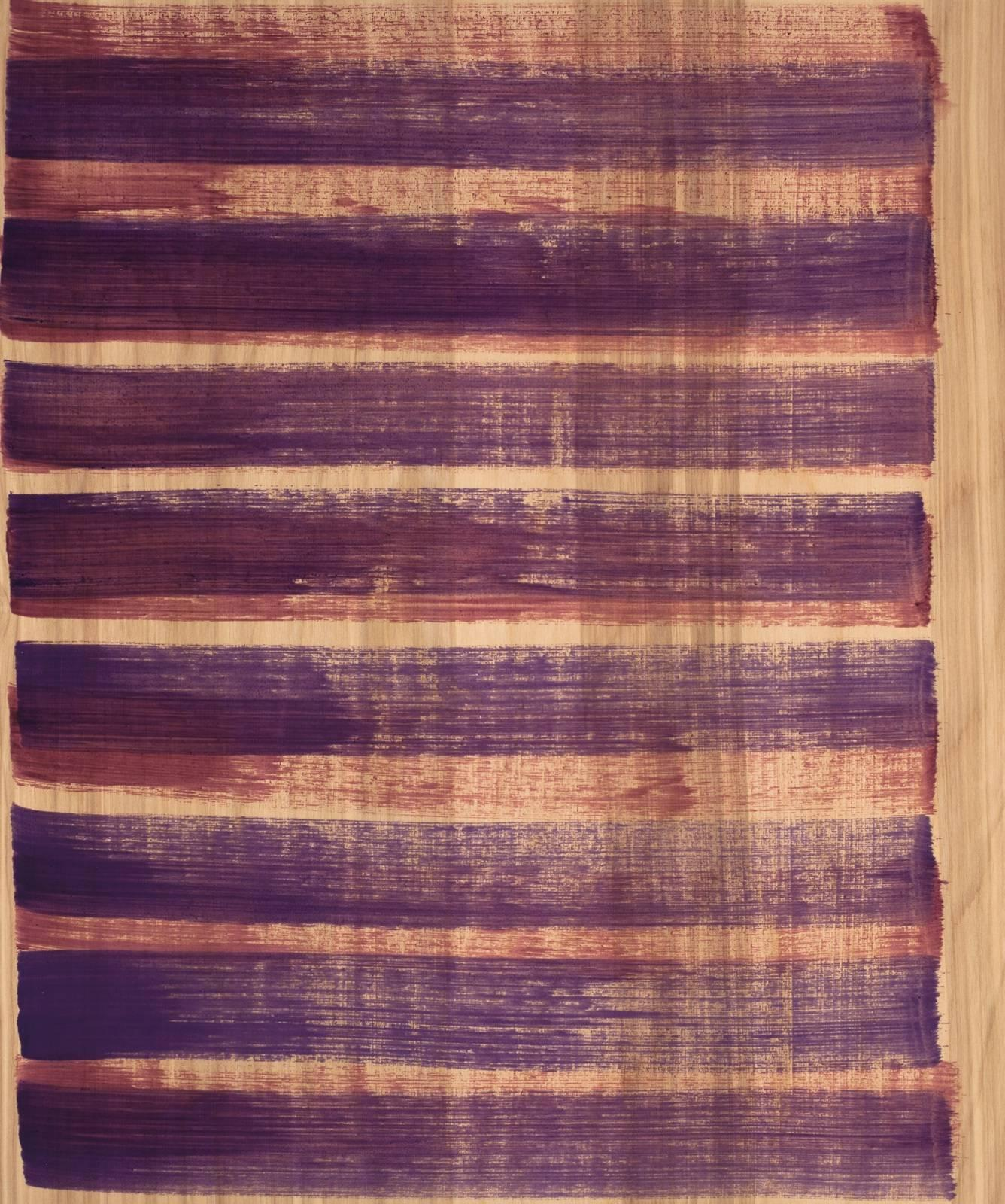 Emily Berger, Breath, 2014, oil paint, wood panel, Abstraction
