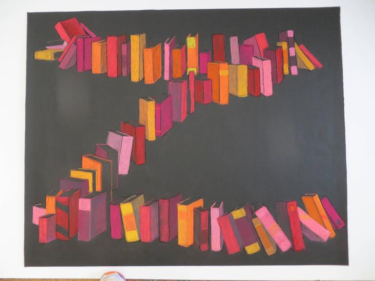 KK Kozik, Zorro, 2015, Crayon, Rag Paper - Art by KK Kozik
