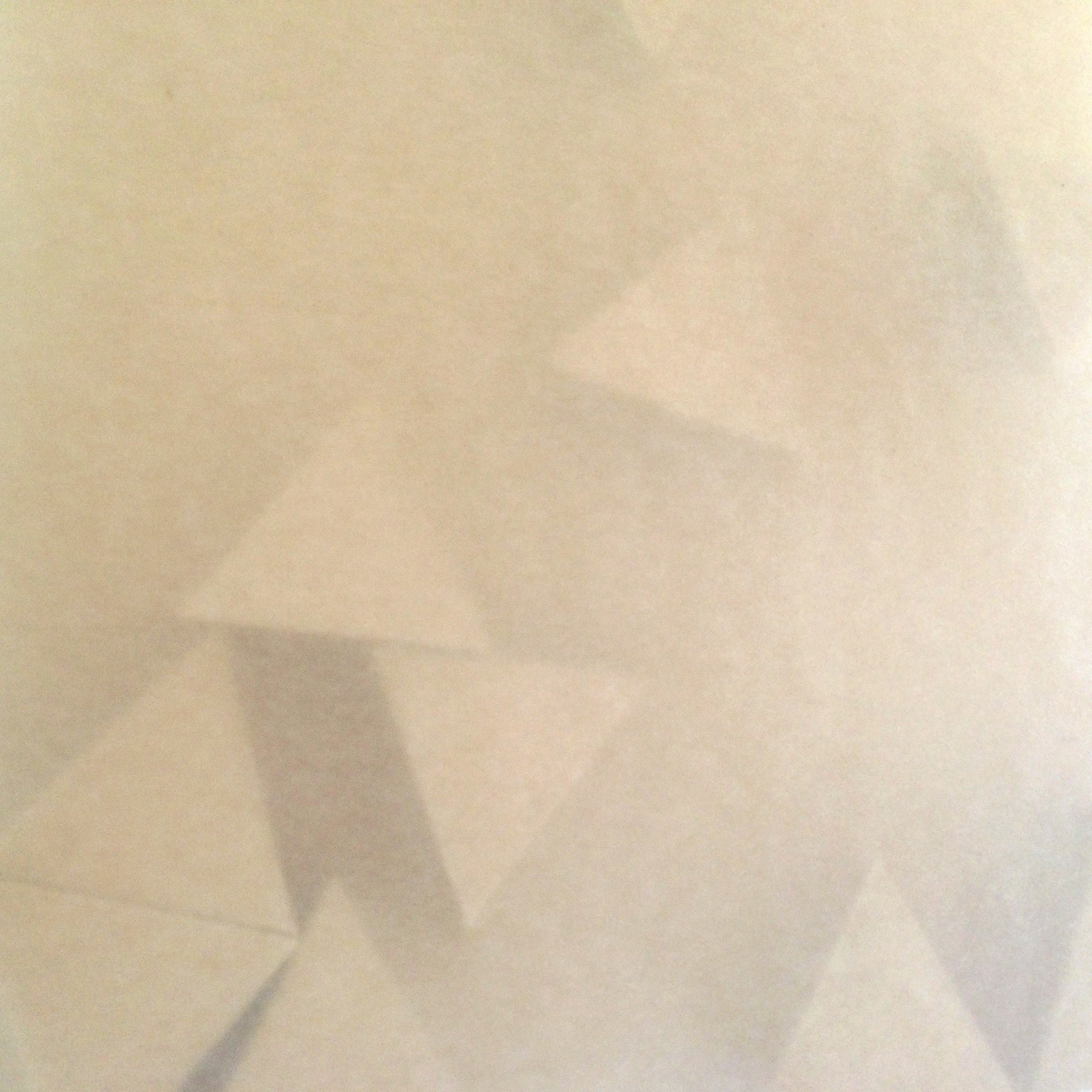 Norma Marquez Orozco, '11 Triangles (Light Brown)', 2015, Paper