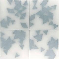 Norma Marquez Orozco, '21 Black Triangles (4 pieces)', 2014, Paper