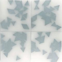 21 Black Triangles (4 pieces)