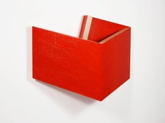 Richard Bottwin, 'Red.Center', 2016, Acrylic Paint, Wood
