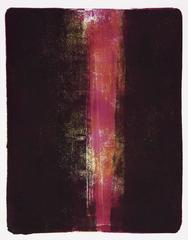 Anne Russinof, Sliver, 2016, Acrylic Paint, Archival Paper, Monotype