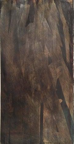 Deborah Freedman, Given Melody 16, 2016, Paper, Oil Paint