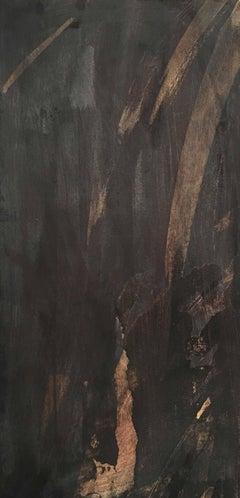 Deborah Freedman, Given Melody 20, 2016, Paper, Oil Paint