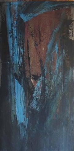 Deborah Freedman, Given Melody 23, 2016, Paper, Oil Paint