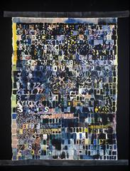 Ellen Hackl Fagan, Primer, 2001, Cotton Canvas, Acrylic Paint, Graphite