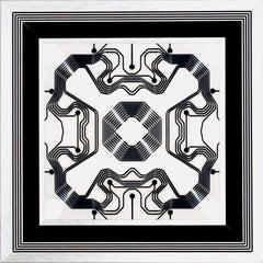 Pat Lay, DM415161212, 2016, Acrylic Paint, Board, Digital Pigment Print