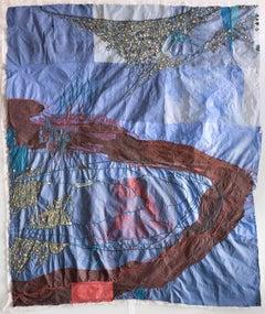 Nancy Cohen, Gully, 2016, Handmade Paper, Pigment