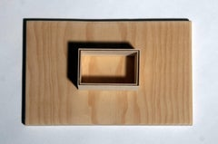 Fritz Horstman, Formwork for a Rectangle, 2015, Plywood, Wood