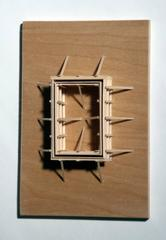 Fritz Horstman, Formwork for a Rectangle 2, 2014, Wood, Plywood