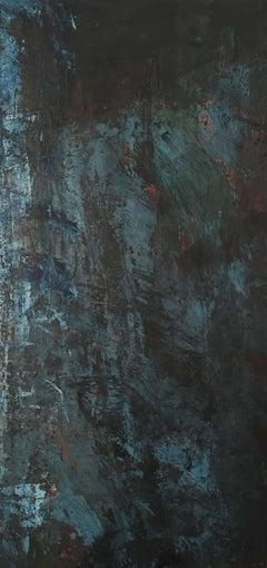 Deborah Freedman, Given Melody 24, 2016, Oil Paint, Rag Paper