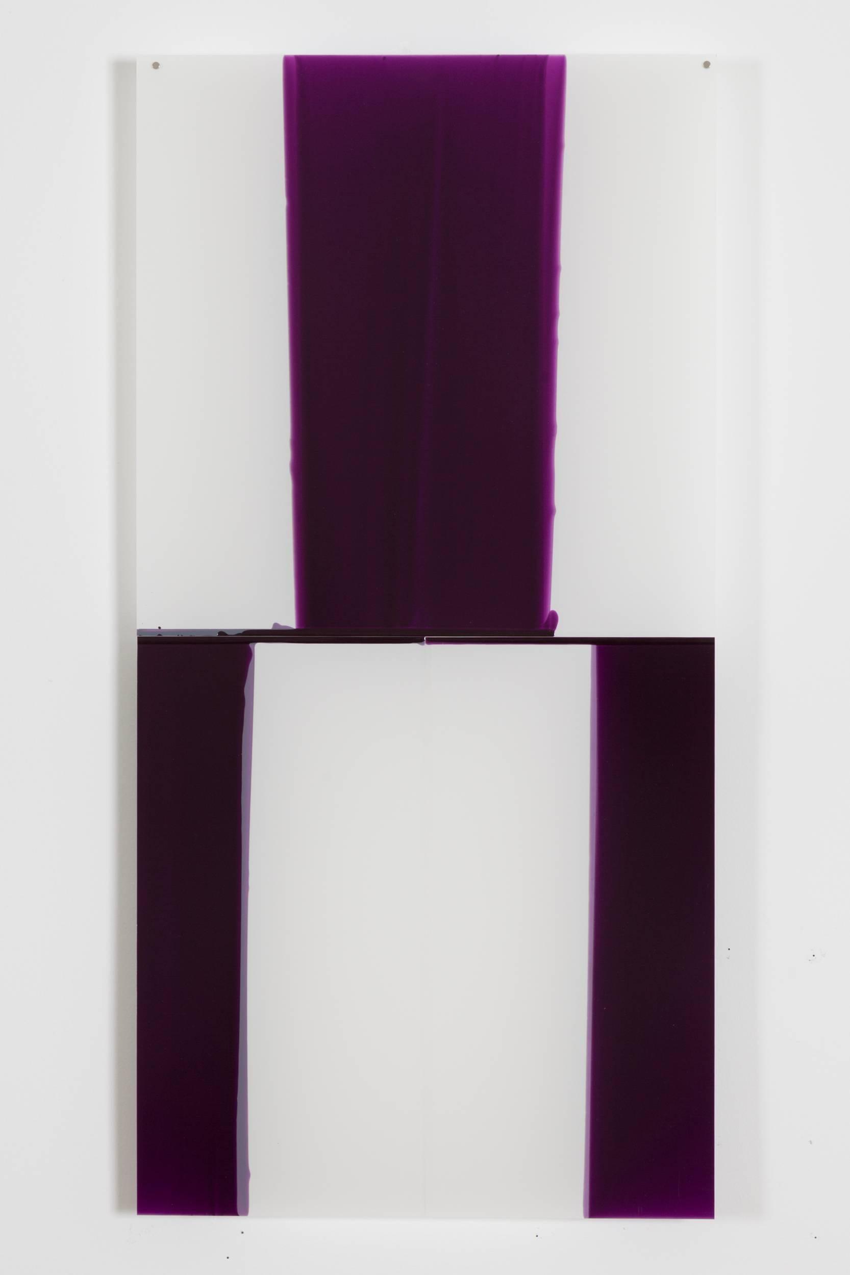Mary Schiliro, Random Dip 3, 2015, Painting, Acrylic on Mylar, Abstraction