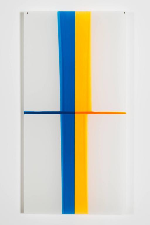 Mary Schiliro Abstract Painting - Random Dip 1